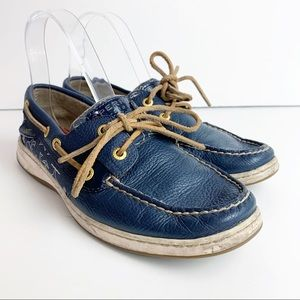 Sperry Topsider Bluefish Blue Boat Shoes